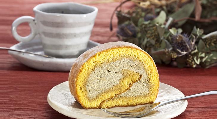 満天の星ロールケーキ